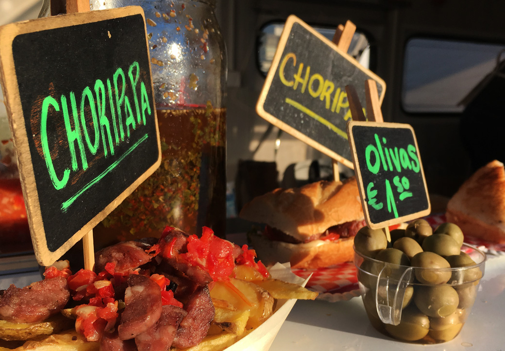 Yummy! Choripapa ist definitiv mein neues Lieblingsgericht.