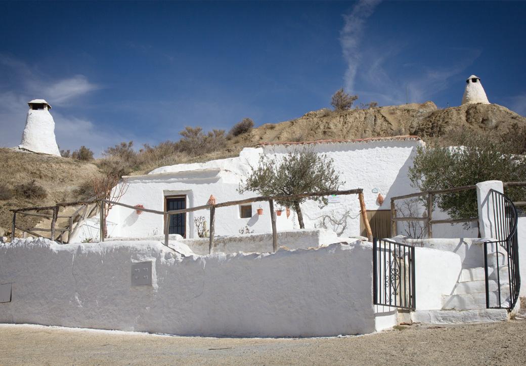 So schauen die Cuevas in Guadix aus.