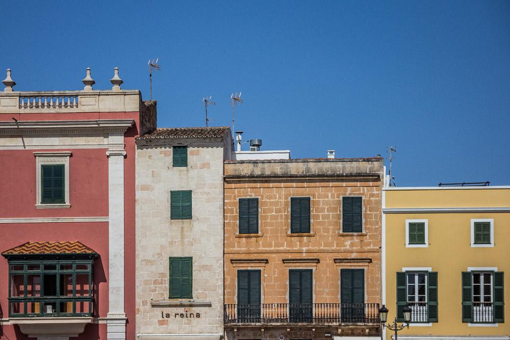 Häuser in Ciutadella