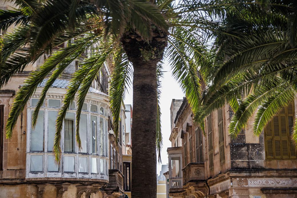Durch die Straßen Ciutadella Menorca