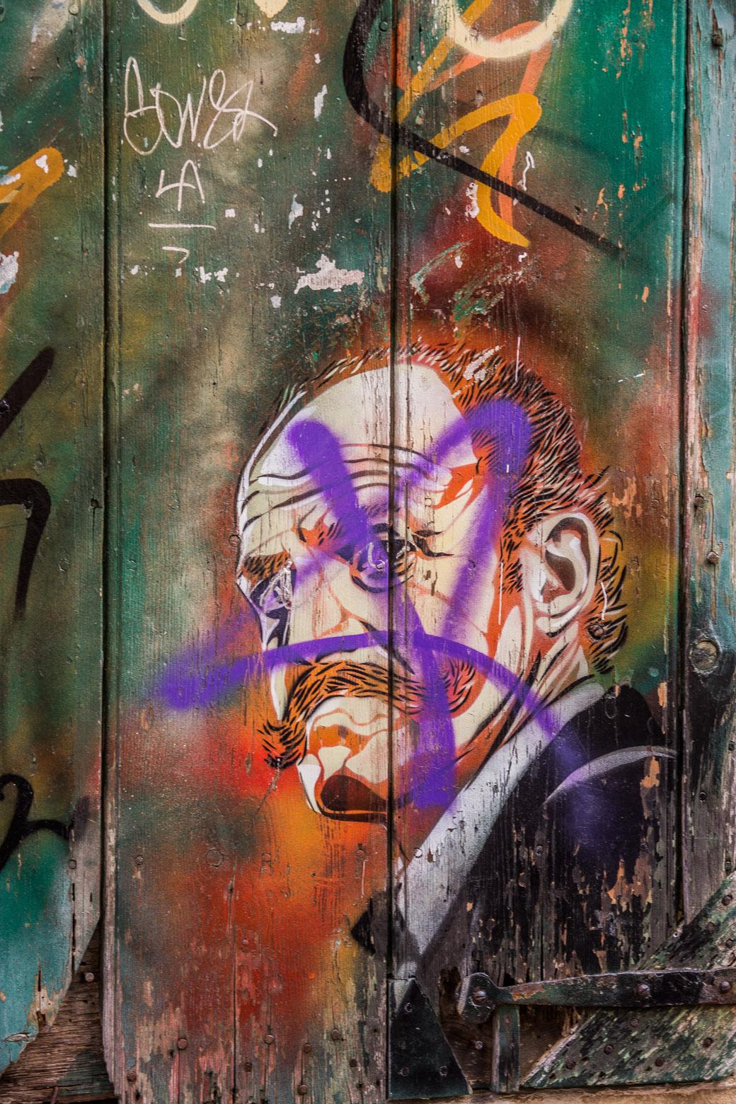 Streetart in den Straßen von Ciutadella Menorca