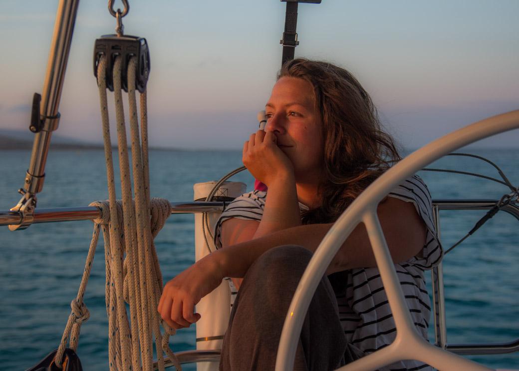 Ruhe nach der Fornelli Passage und den Sonnenuntergang genießen!